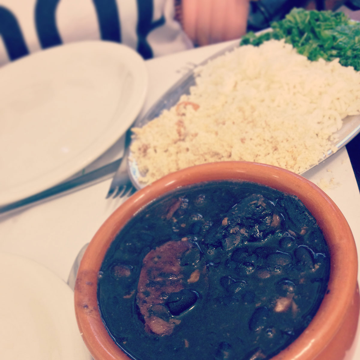 Traditionelles Gericht in Brasilien - Fejoada