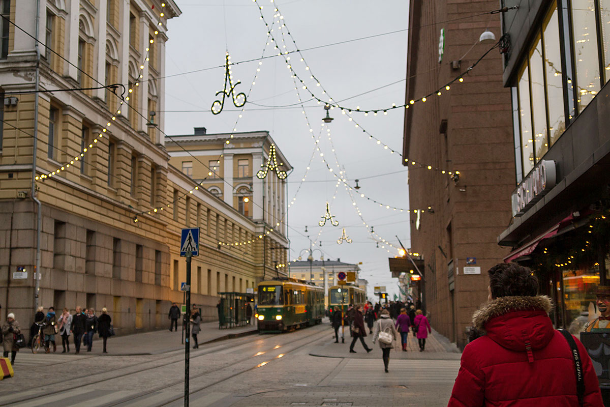 Mit der Fähre nach Helsinki