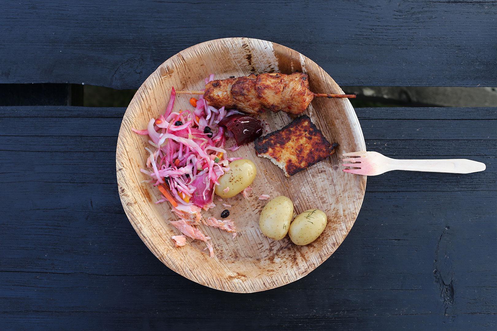 Skandinavisches Essen