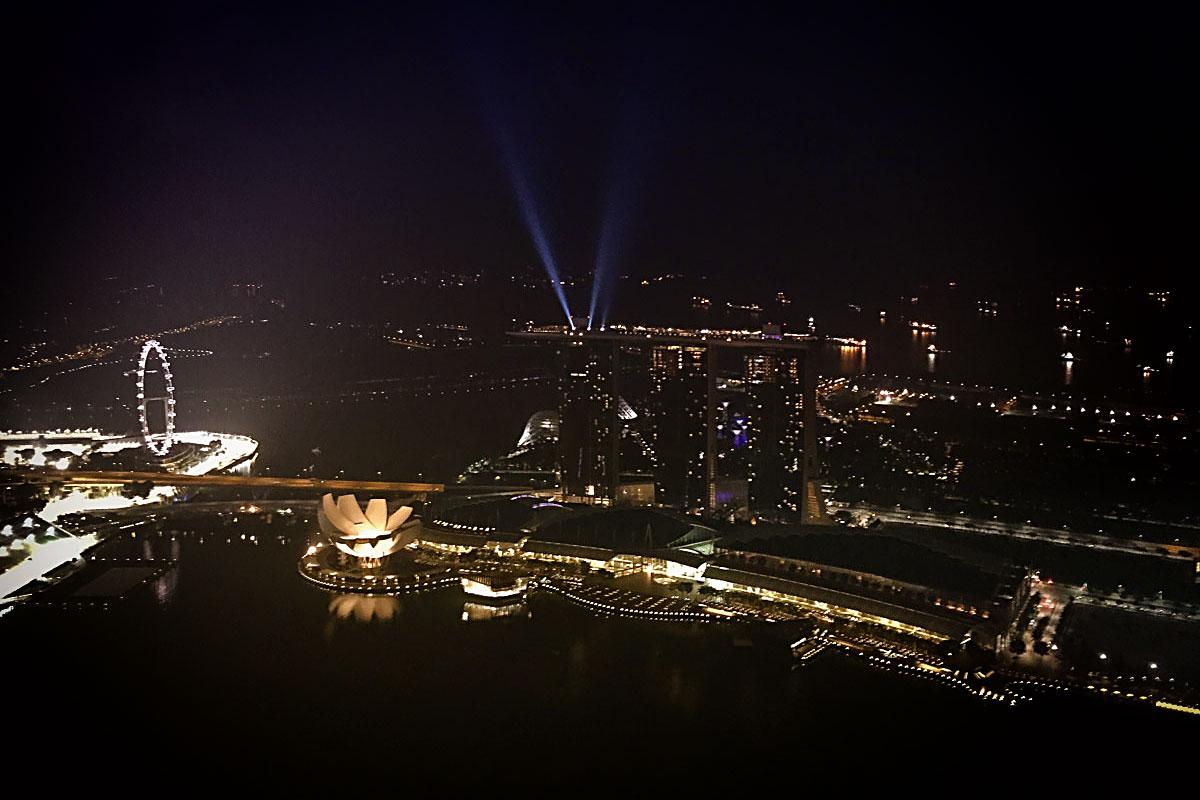 Reise nach Singapur