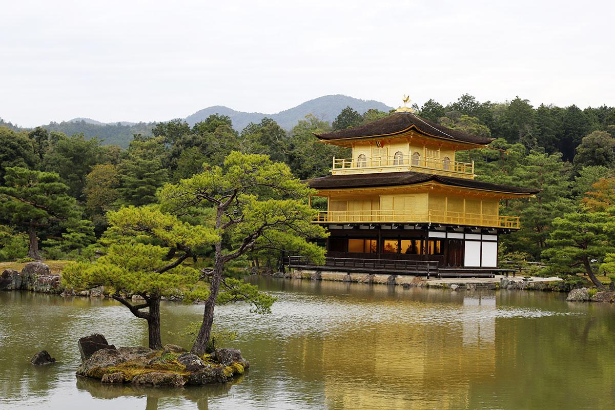 Kinkaku-ji – Der goldene Schrein
