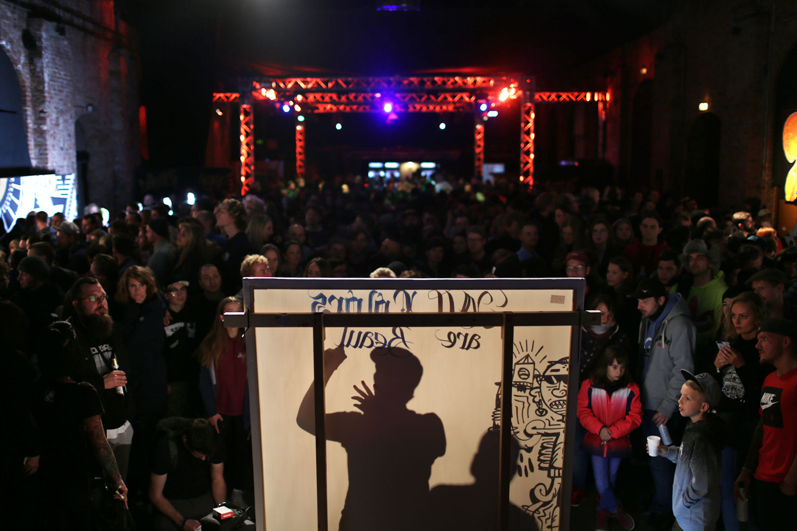 Das Paint Club Battle League Finale 2018 in Dresden