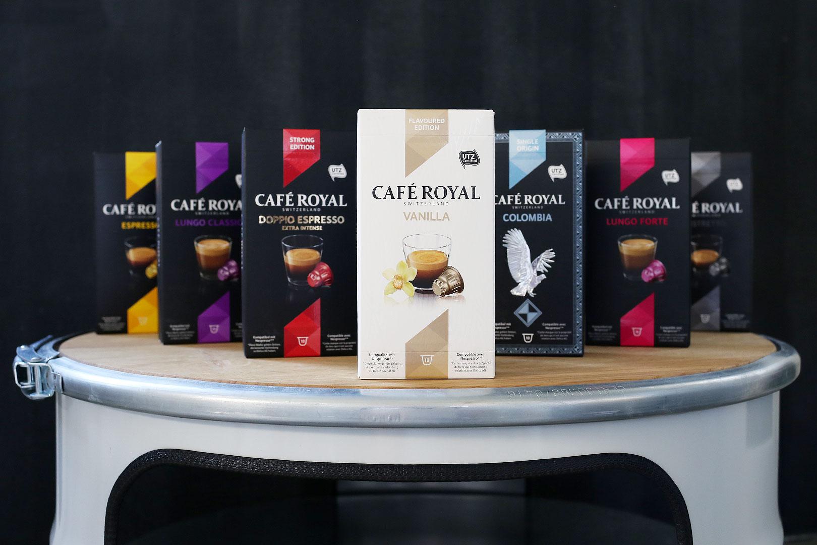 Am Wochenende abkapseln mit Café Royal