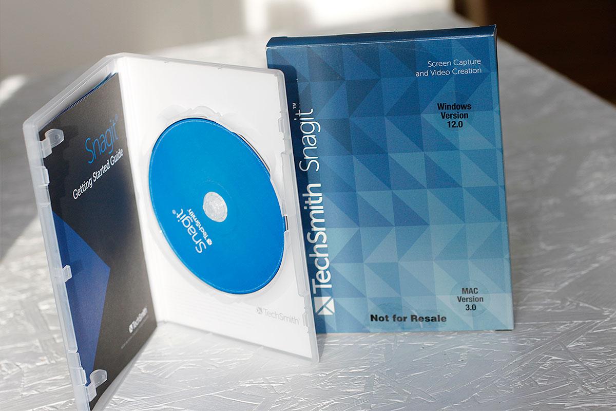 Bild- und Videobearbeitungsprogramm von TechSmith