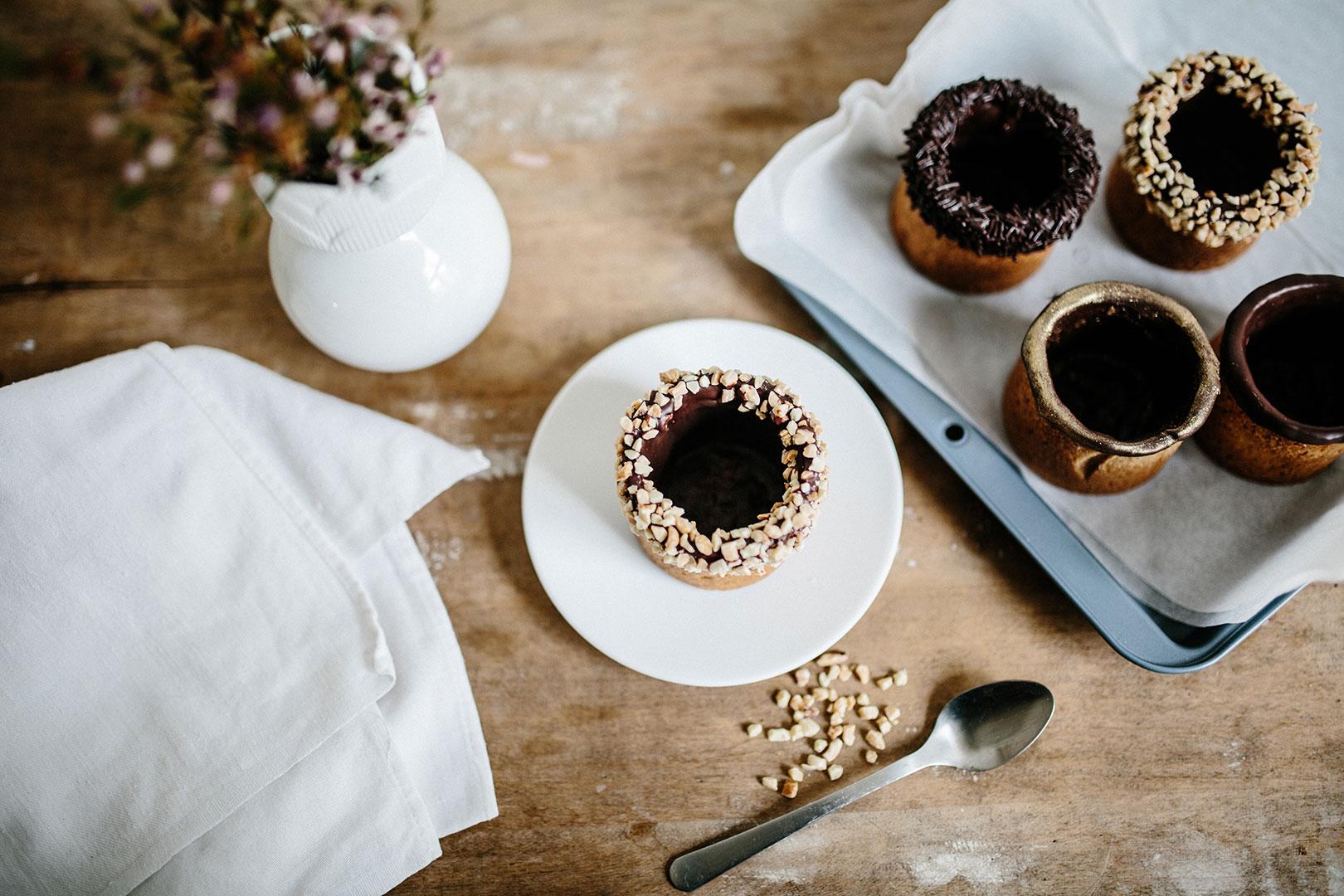 Der Cookie Cup – eine Tasse Kaffee in der Waffel nicht im Becher