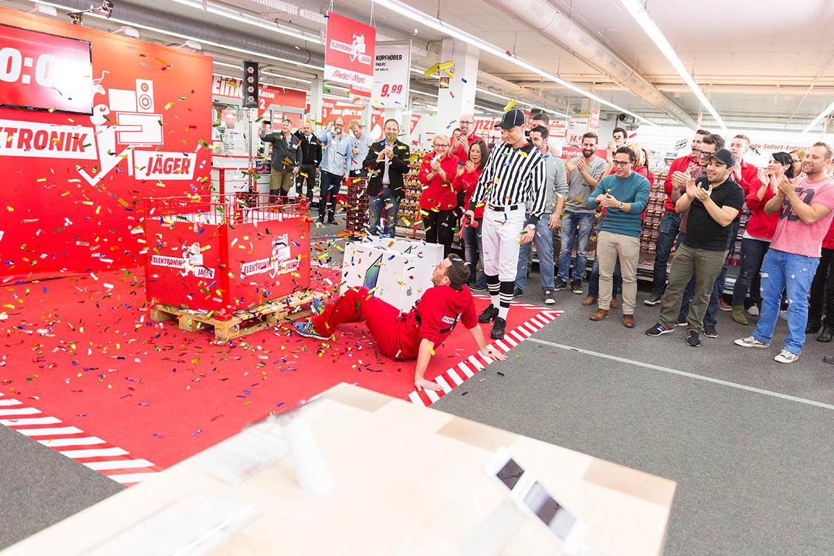 Der Media Markt Elektronik-Jäger Heilbronn 2014