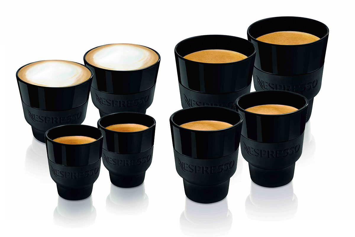 Die Nespresso Touch Collection