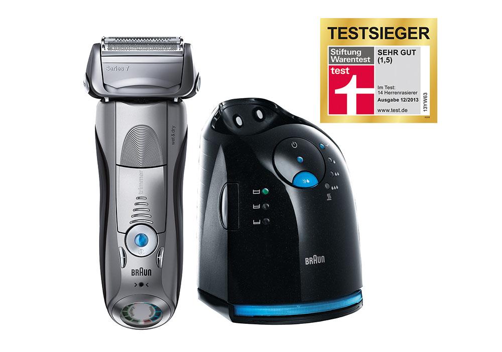 Stiftung Warentest - Testsieger Rasierer