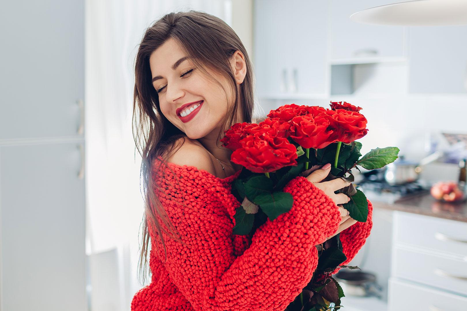 Einfach mal wieder Blumen verschenken