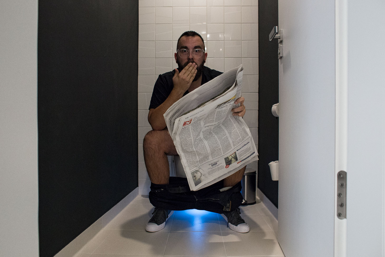 Das Geberit Dusch WC testen