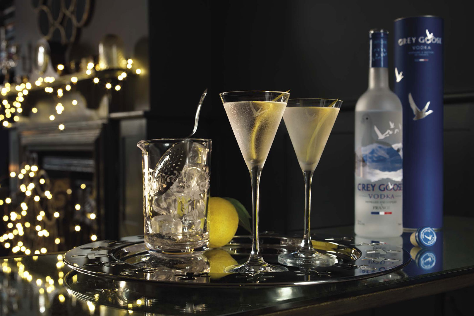 GREY GOOSE Christmas Cocktails