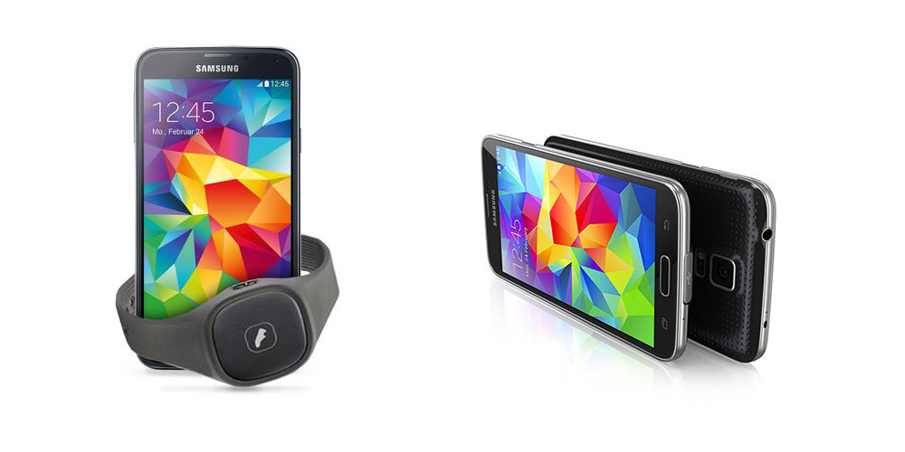Samsung GALAXY S5 und Samsung Activity Tracker