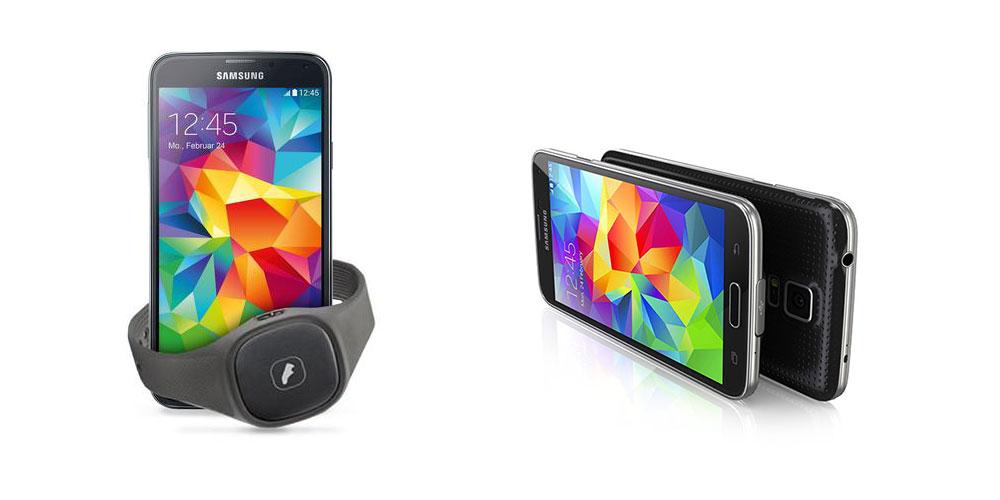 Samsung GALAXY S5 und Samsung Activity Tracker