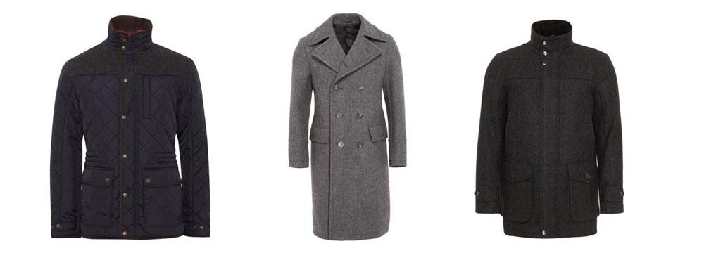 Winter-Jacken und Mäntel für Männer