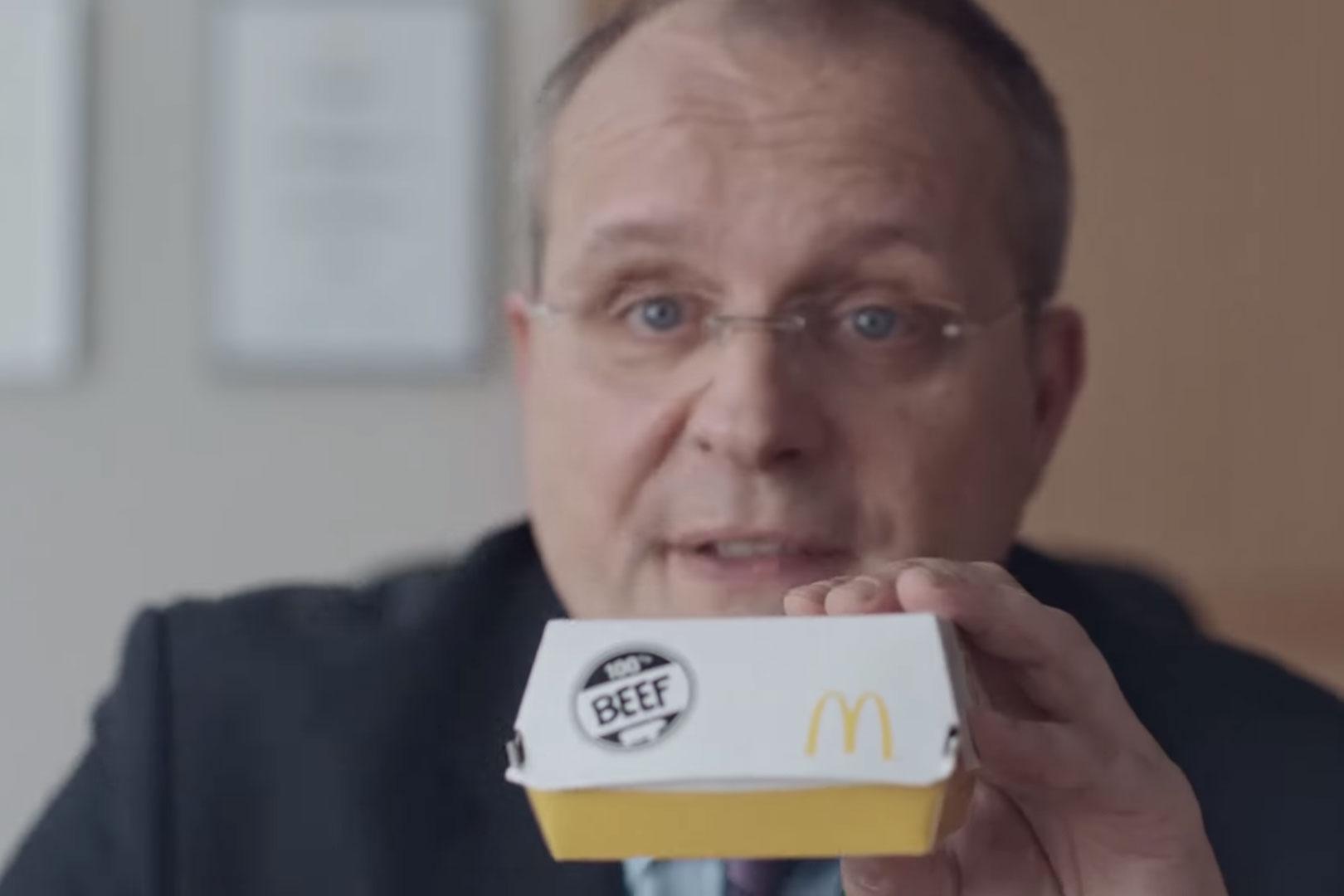 Plastik, Menschenfleisch oder doch Baumwolle? - Was steckt eigentlich im Patty von McDonald's