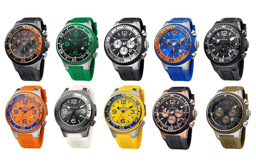 POSEIDON Uhren - Variationen