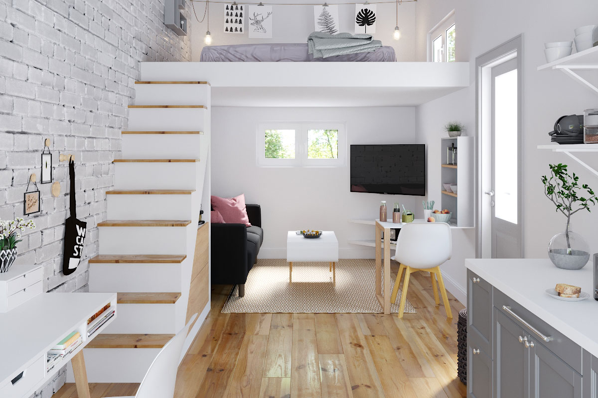 Das Meiste aus kleinen Räumen machen – Small Spaces Reimagined