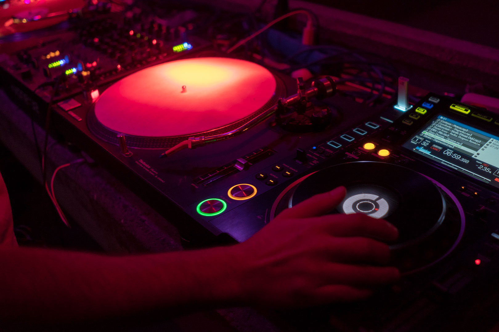 Telekom Electronic Beats Clubnight – Interview Candy Pollard