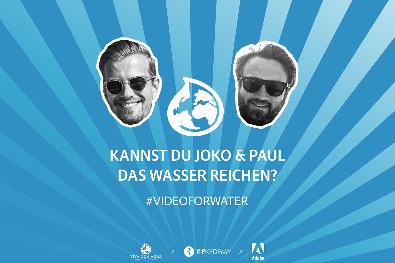 Video-Contest #VideoForWater – unterstütze die Wasserinitiative Viva con Agua und gewinne eine Reise zur Ripkedemy