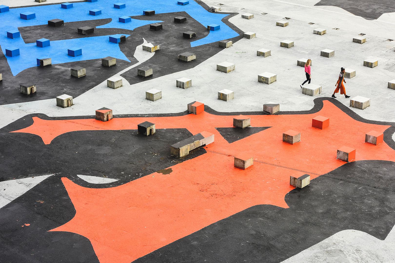 Unkonventionelle Leinwand – Ein 17.500 Quadratmeter großes Kunstwerk