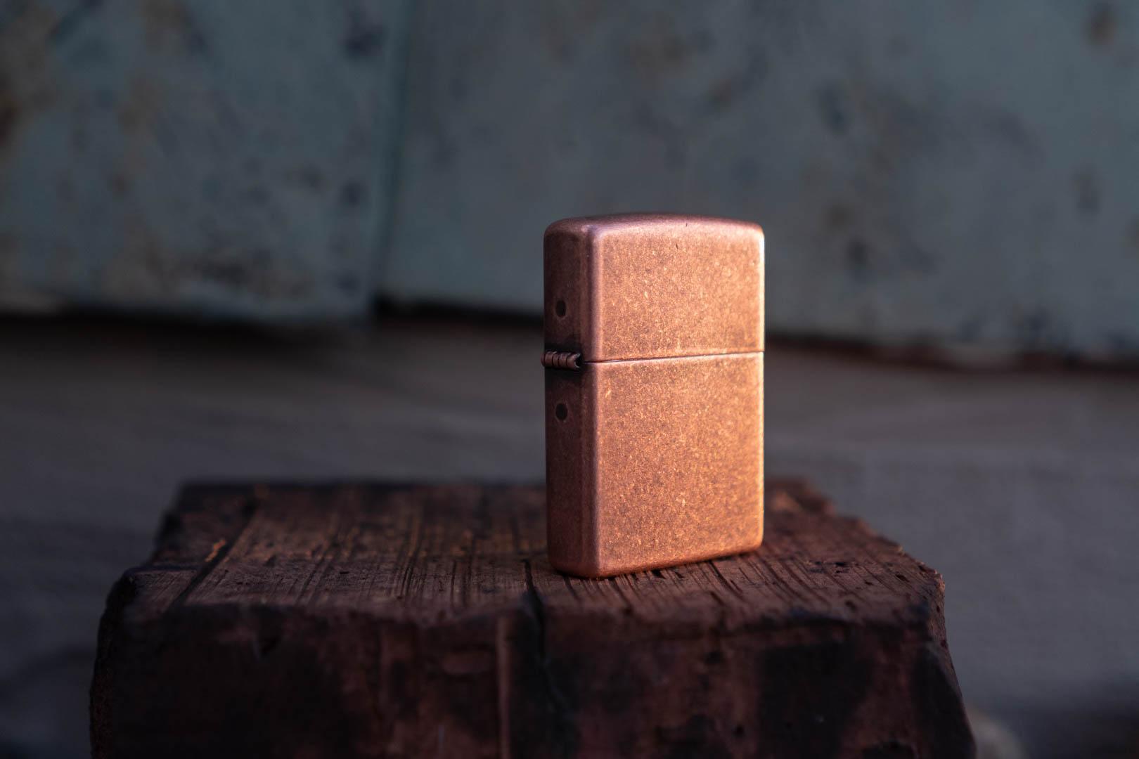 Vintage Zippo Copper