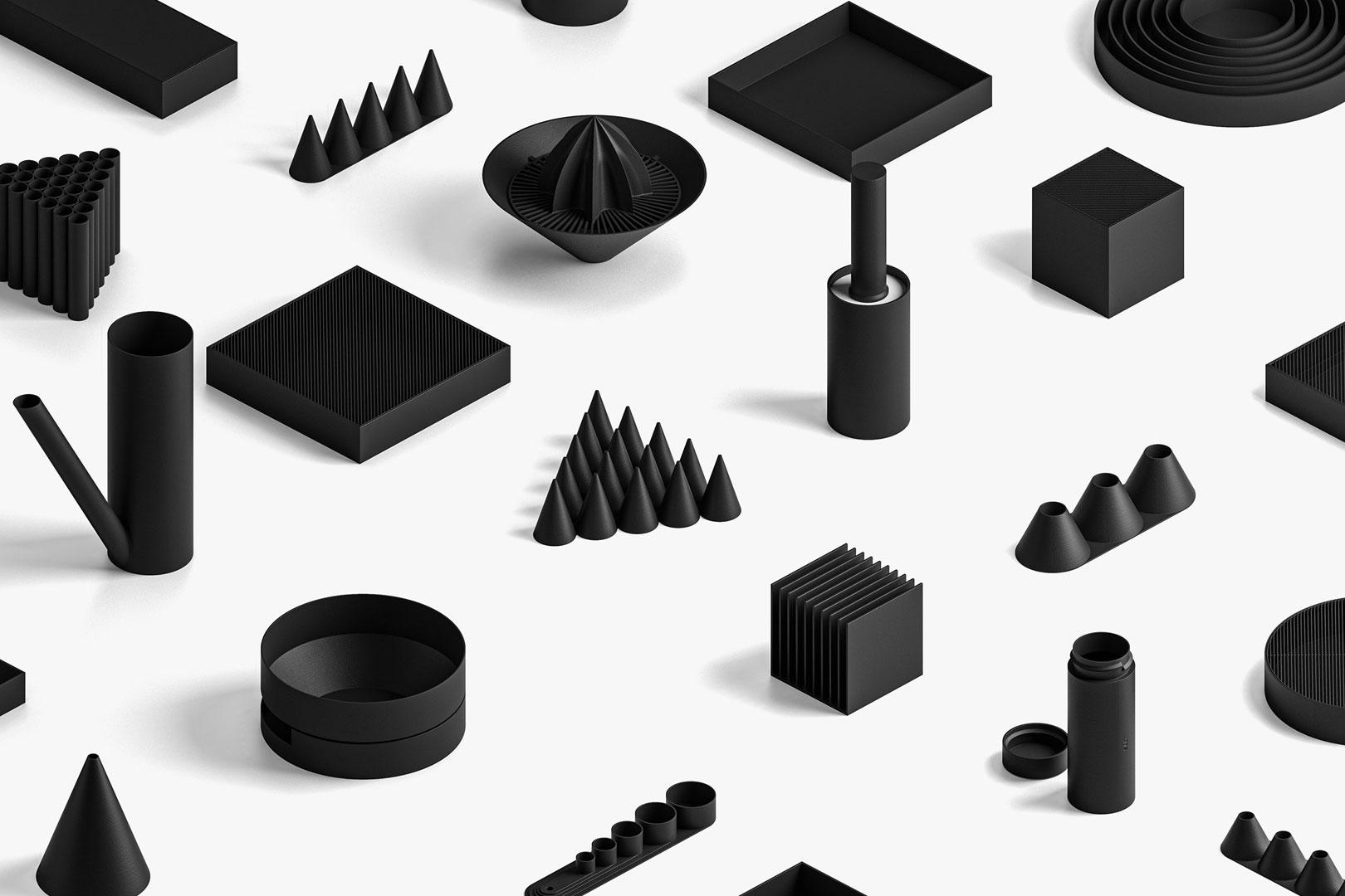 The Future is now - Dekoration aus dem 3D-Drucker von Boem Studio