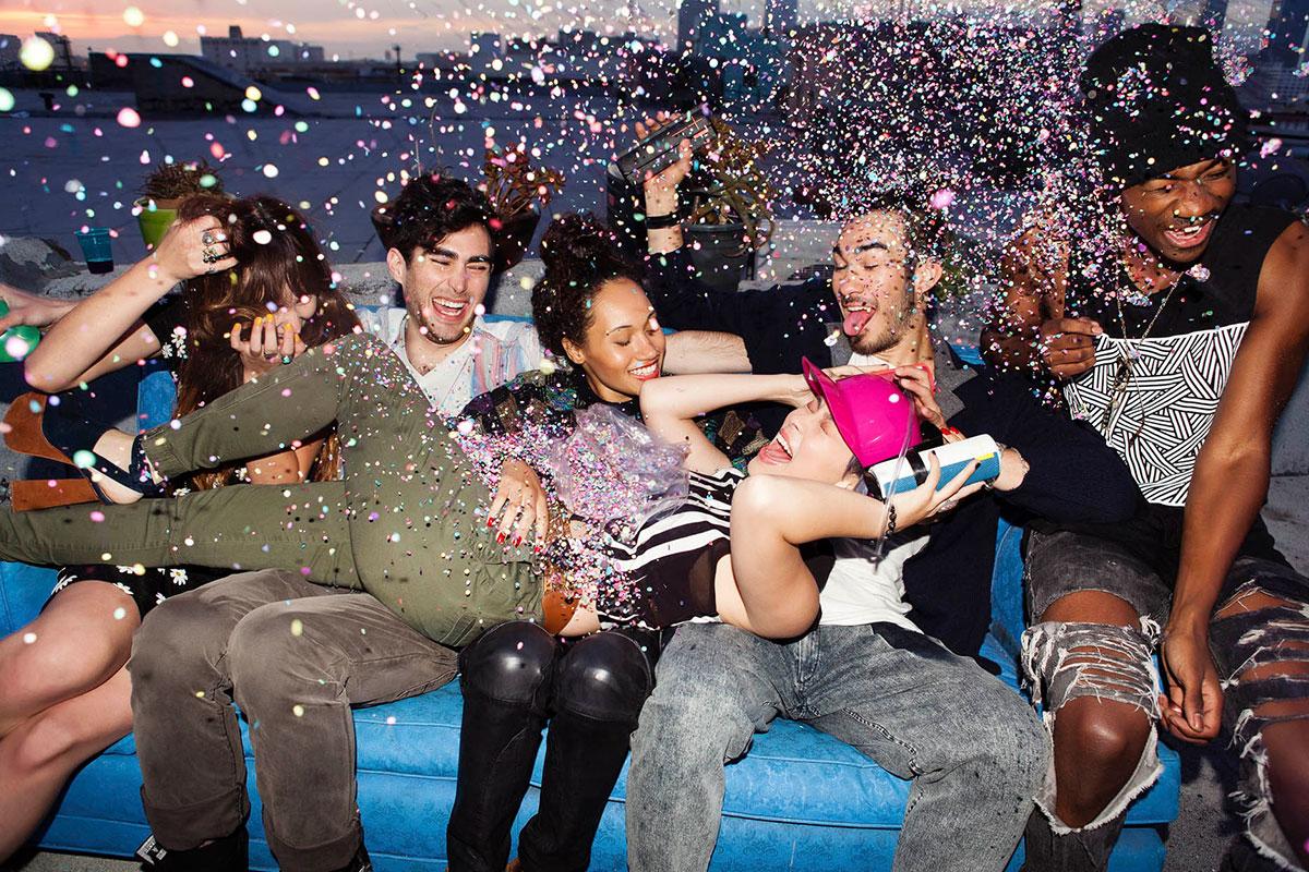 Musik, Party, Spaß
